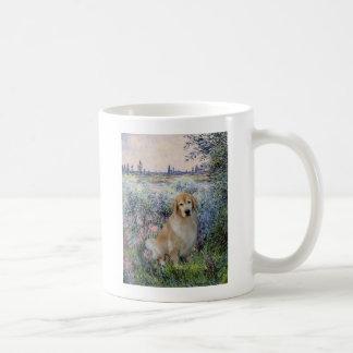 Golden Retriever10 - By the Seine Coffee Mug