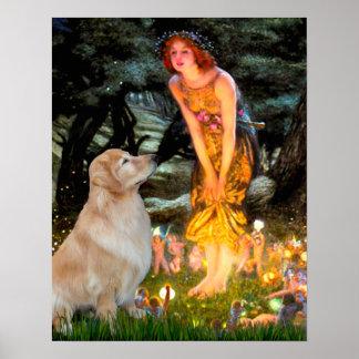 Golden Retriever 11 - Mid Eve Poster