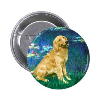 Golden retriever 1 - Lirios 5 Pins