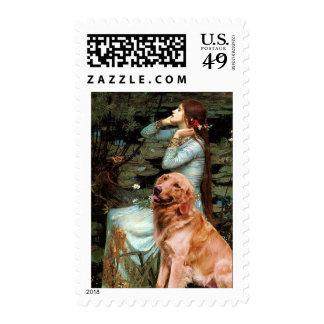 Golden Retriever 1 - Ophelia Seated Postage