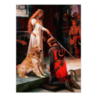 Golden Retriever 1 - The Accolade Poster