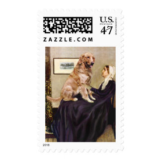 Golden Retriever 1 - Whistlers Mother Postage