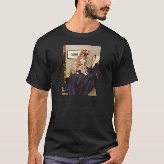 Golden Retriever 1 - Whistler's Mother T-Shirt