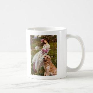 Golden Retriever 1 - Windflowers Coffee Mugs