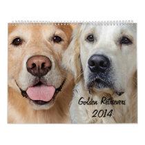 Golden Retriever 2014 Calendar