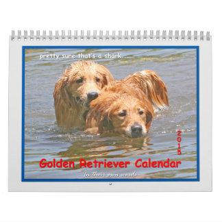 Golden Retriever 2015 Calendar