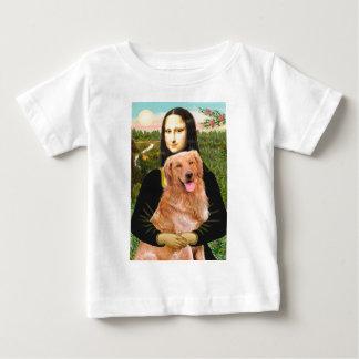 Golden Retriever 2 - Mona Lisa Baby T-Shirt