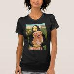Golden retriever 2 - Mona Lisa Camiseta