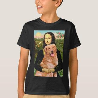 Golden Retriever 2 - Mona Lisa T-Shirt