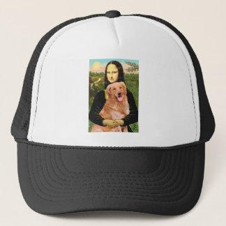 Golden Retriever 2 - Mona Lisa Trucker Hat