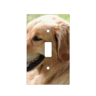 golden-retriever-33 light switch cover