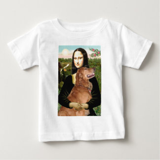 Golden Retriever 3 - Mona Lisa Baby T-Shirt