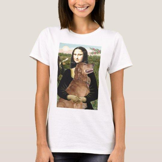 Golden Retriever 3 - Mona Lisa T-Shirt