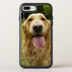 OtterBox Apple iPhone 7 Plus Symmetry Case with Golden Retriever Phone Cases design