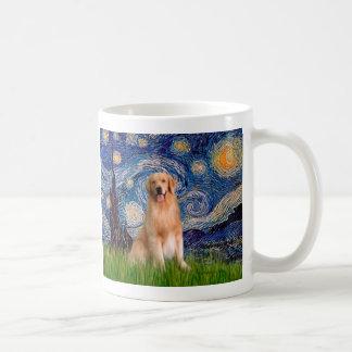 Golden Retriever 8 - Starry Night Coffee Mug