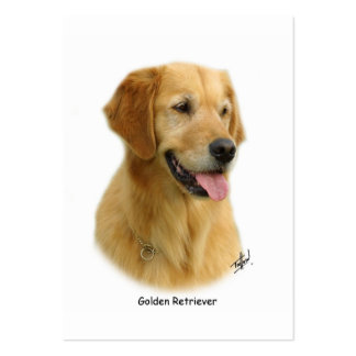 Golden Retriever 9K011D-08 Large Business Cards (Pack Of 100)