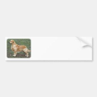 Golden Retriever 9Y186D-072 Car Bumper Sticker