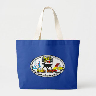 Golden Retriever Agility Dog Gifts Tote