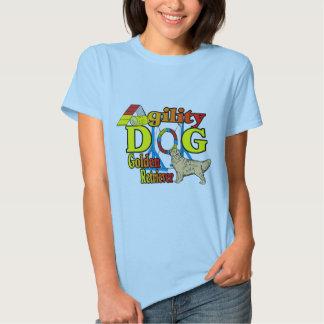 Golden Retriever Agility Gifts T-Shirt
