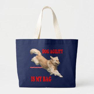 Golden Retriever Agility Tote Tote Bag