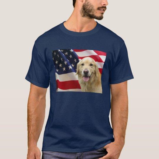 Golden Retriever All American Shirt