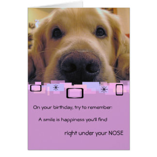 Golden Retriever All Occasion Greeting Card