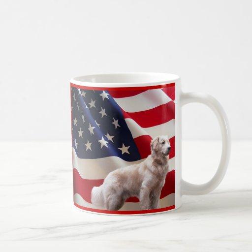 Golden Retriever America Mug