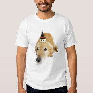 Golden retriever and ornament T-Shirt