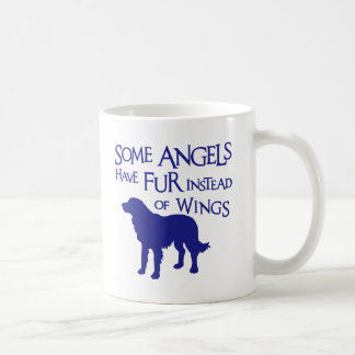 GOLDEN RETRIEVER ANGEL COFFEE MUG
