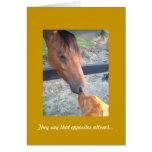 Golden Retriever Anniversary Card, Opposites