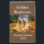 "Golden Retriever Annual Calendar 2018<br><div class=""desc"">Golden Retriever Annual Calendar 2018</div>"