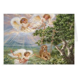 Golden Retriever Antonio Angel Card