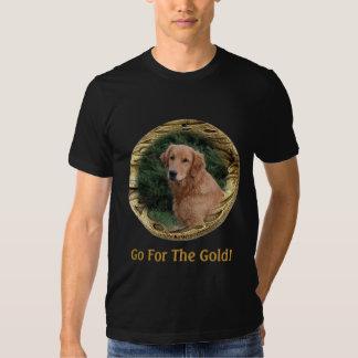 Golden Retriever Art Gifts T-Shirt