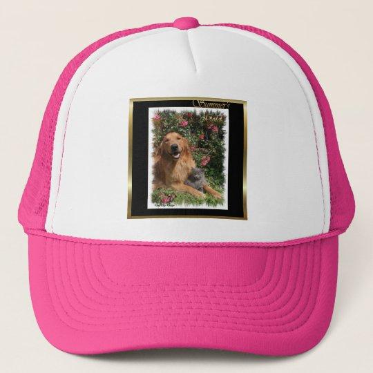 Golden Retriever Art Gifts Trucker Hat