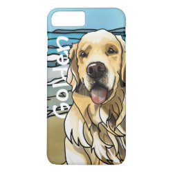 Case-Mate Tough iPhone 7 Plus Case with Golden Retriever Phone Cases design