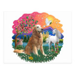 Golden Retriever (B6) Postcard