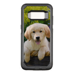 OtterBox Commuter Samsung Galaxy S8 Case with Golden Retriever Phone Cases design