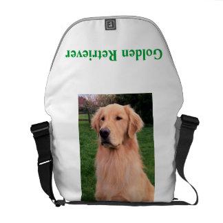 Golden Retriever Bag Courier Bag