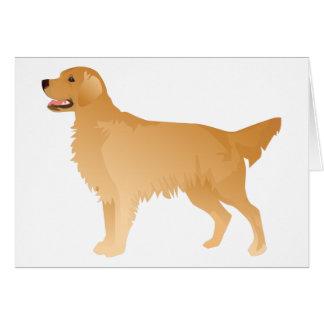 Golden Retriever Basic Breed Design Card