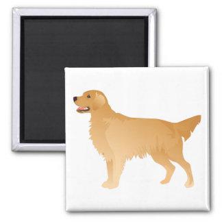 Golden Retriever Basic Breed Design Magnet