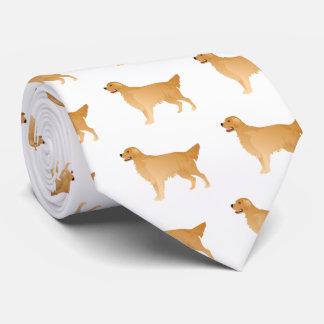Golden Retriever Basic Breed Design Neck Tie