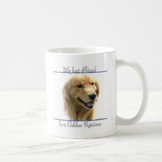 Golden Retriever Best Friend 2 Coffee Mug