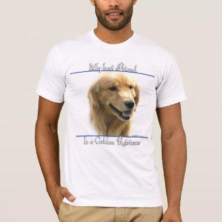 Golden Retriever Best Friend 2 T-Shirt