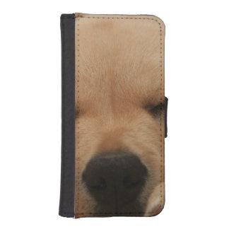 Golden retriever billetera para teléfono