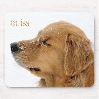 Golden Retriever Bliss Mousepad