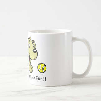 Golden Retriever - Blondes Have More Fun Classic White Coffee Mug