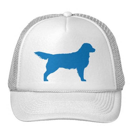 Golden Retriever (blue) Trucker Hat