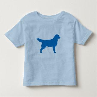 Golden Retriever (blue) Toddler T-shirt