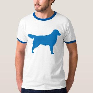 Golden Retriever (blue) Tshirts
