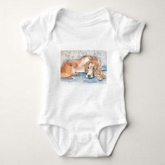 Golden retriever body para bebé